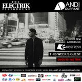 Electrik Playground 9/5/15 inc Metrik Guest Session
