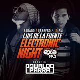 Electronic Night - Guest DJ Oswaldo Parra (EXA Mérida) (02-02-2019)