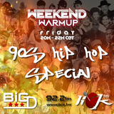 The Weekend Warmup 13-04-2018 on Lick FM Marbella 92.2fm