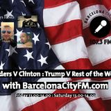 THe US Politics show on Barcelona CIty FM 107.3