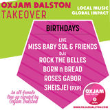 Oxjam Dalston Takeover x Born n Bread Exclusive Mix