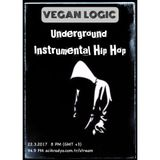 VEGAN LOGIC - UNDERGROUND INSTRUMENTAL HIP HOP - 22.3.2017