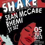 Sean McCabe's Shake Guestmix for Rhemi Music