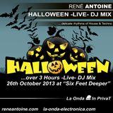 La Onda - Halloween [over 3 Hours -Live- DJ Mix]