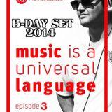 DJ Marinos Caswell - B-DAY SET 2014