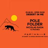 Nicolas Rada warm up for Pole Folder @ Desert In Me 25-8-18