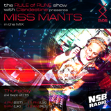 Miss Mants - exclusive guest mix for Rule of Rune hosted by Clandestine [24 SEP. 2015]
