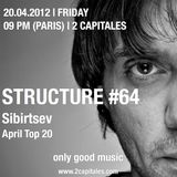 Sibirtsev @ Structure Radio Show#64  Top 20 April v.1