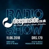 DEEPINSIDE RADIO SHOW 179 (Danny Clark Artist of the week)