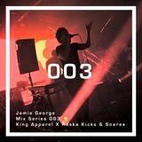 King Apparel X Roska Kicks & Snares Mix 003: Jamie George
