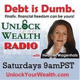 David Gaffen on Heather Wagenhals' Unlock Your Wealth Radio