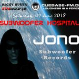 Subwoofer Hospital @ Cubase FM - June 09th 2018 - Dark Techno mix.