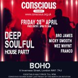 DJ FRANCO PROMO MIX FOR CONSCIOUS DEEP N SOUL AT BOHO CAMDEN NW1 7HJ 28TH APRIL