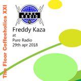 Podcast Pure Radio Holland - Freddy Kaza - Coffeeholics XXI