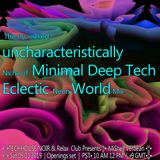 The squirrelled, uncharacteristically Niche of Minimal Deep Tech    Electic Neon World  