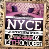 NYCE - JayKnox Bday Special Promotional Mix CD Oct-2012