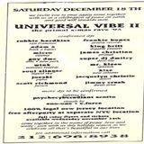 Frankie Bones @ Universal Vibe II-The Primal X-Mas Rave'93 - New Jersey - 18.12.1993