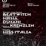Beatwitch @ BHC: New Faces - Tresor Berlin - 04.09.2013