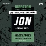 Freenetik Party presents Dispatch Recordings - JON Promo Mix