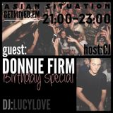 Donnie Firm bij Asian Situation @ Getmixed Radio - www.getmixed.fm - 01122014