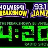 Freak Show 420 Show 2016 - Special Edition 8:56 Freak Mix mixed by DJ Fusion
