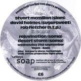 Rejuvination (Soma) live at Herbal Tea Party 'In The City' - Sankeys Soap Manchester 21 September 94