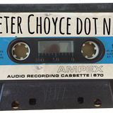 Peter Choyce on WZBC sometime in 1998