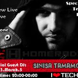 ANDREW LIVE [HUN] Spectrum Techno Radio Show #10 Pt.1