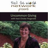 Recording Artist/Author-Taja Sevelle sprouts Urban Farming on Uncommon Giving