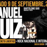 Manuel Ruiz en Revillo de Vuelta / Este sábado en Bartolomé.