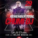 Chumi Dj @ Remember Total 2ª parte 29/10/2011