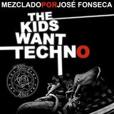 José Fonseca@The Black Rose-The Kids Want TECHNO (Live Set+Cierre)