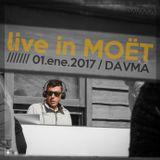 DAVMA @ Live MOET WINTER LOUNGE / 01-01-17