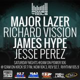 Powertools Mixshow - Episode 9-10-16 Ft: Major Lazer, James Hype & Jesse Perez