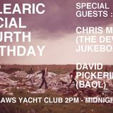 Balearic Social 4th Birthday Chris Maude