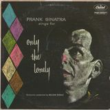 Frank Sinatra Sings For Only The Lonely. W 1053.  Capitol Records. 1958. USA