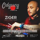 ODYSSEY #04 guest mix by Ziger ( Greece ) on Cosmos Radio - Germany (18 OCT 2018)