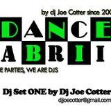 Dance Fabrik dj set ONE by dj Joe Cotter