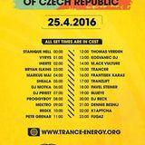 The Sound of Czech Republic - Trance Energy Radio 25.04.2016