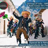 """Especial de la patria: """"Música independiente del Perú"""""""