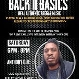 BACK 2 BASICS ON UNIQUEVIBEZ - 8TH DEC.2018 FEAT ANTHONY QUE