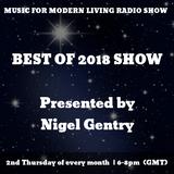 Music For Modern Living Radio Show w/ Nigel Gentry | Best of 2018 | December 2018 | blueingreenradio