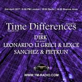 Dirk - Host Mix - Time Differences 256 (2nd April 2017) on TM-Radio