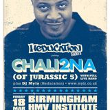 DJ Mylz - Chali 2na (Jurassic 5) Warm Up Mix (Live) - Pt 1