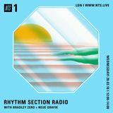 Rhythm Section w/ Bradley Zero & Neue Grafik - 28th March 2018