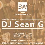 Episode 454 - DJ Sean G - January 13, 2018