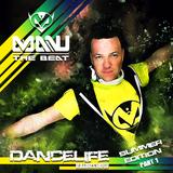 MANU THE BEAT presents DANCELIFE #005  SUMMER EDITION PART 1 - podcast radioshow