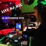 Live DJ-Mix 28 September 2018, Back2Now - RTW FM