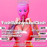 Dj Nikki FashBashSoundClash Mix - The Curtain 07 Oct 2017