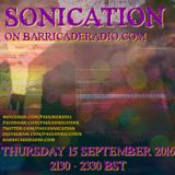 Sonication with Paul Mansell on Barricade Radio 15 Sept 2016 #Techno #Techhouse #House #DeepHouse